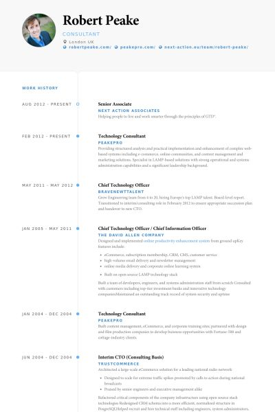 Senior Associate Resume samples - VisualCV resume samples database