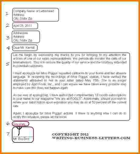 8 formal email format to company | Financial Statement Form
