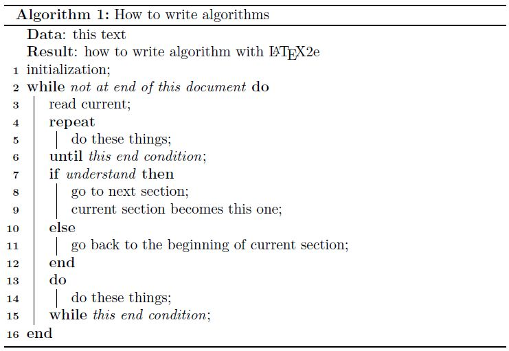 pseudocode - do-while loop in algorithm2e - TeX - LaTeX Stack Exchange