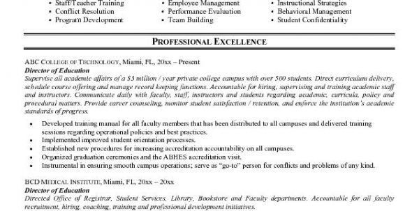 sample special education resume business object administrator ...