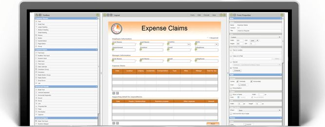 Expense Form Template, Expense Claim Form - PerfectForms