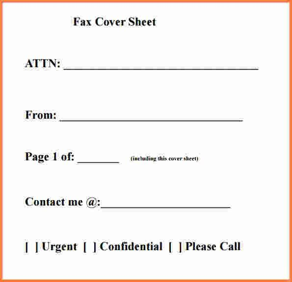 Fax Template Pdf. sample fax cover page 8 documents in pdf ...