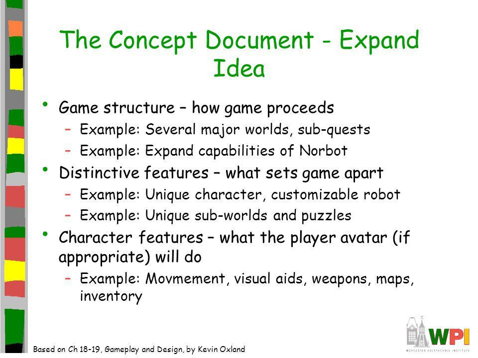 The Game Development Process Documentation. The Role of ...