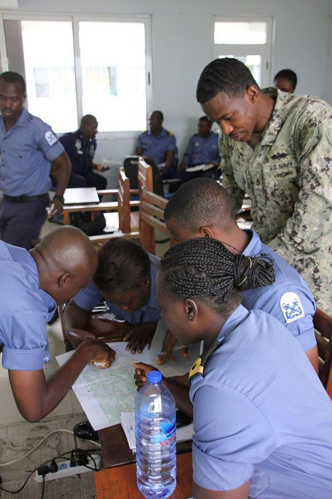 U.S. Builds Relationship with Ghana with Intelligence Training ...