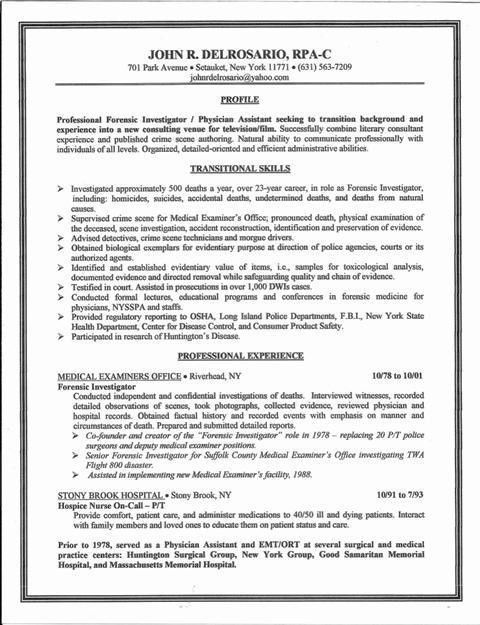 Financial investigator cover letter