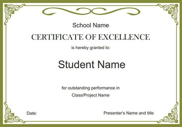 Award Certificates Pdf. Award-Of-Excellence-Pdf-Certificate ...