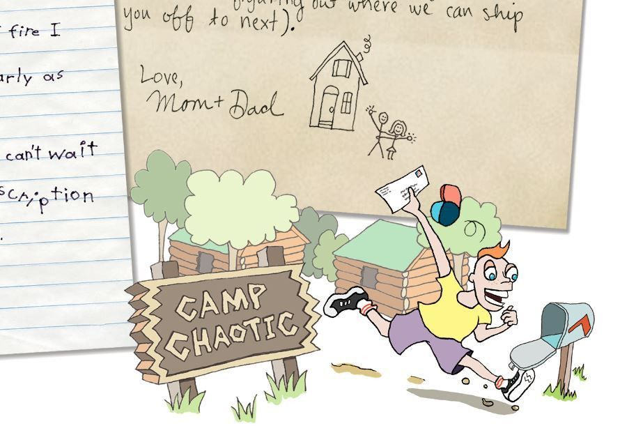 Write? On paper? Summer camp letters are an oddity in digital ...