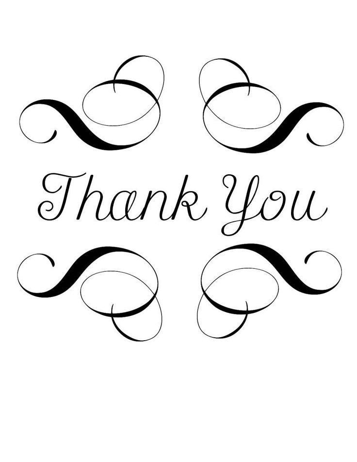 159 best Thank You images on Pinterest | Thank you cards ...