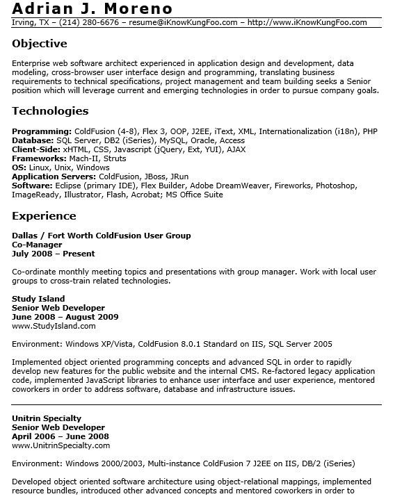 senior architect resume senior architect resume samples visualcv