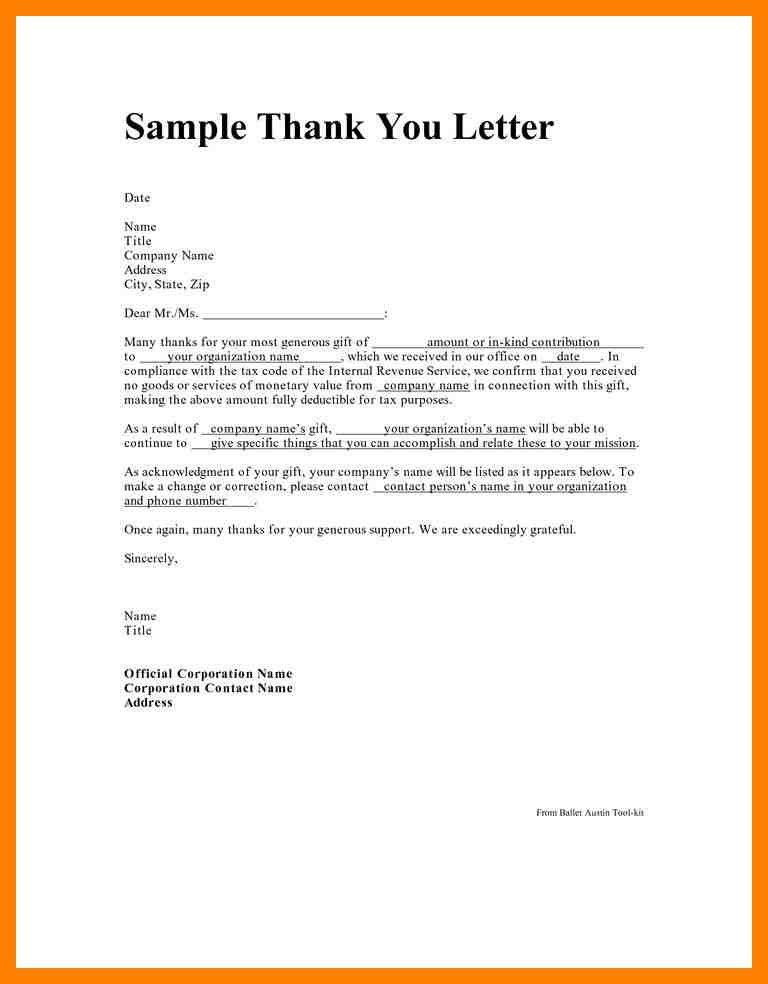2+ how to write a thank you letter for a gift | emt resume