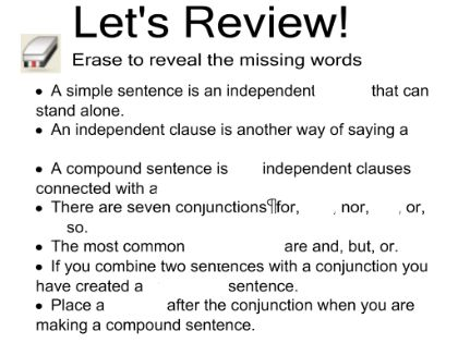 SMART Exchange - USA - Comma Splices and Run-on Sentences