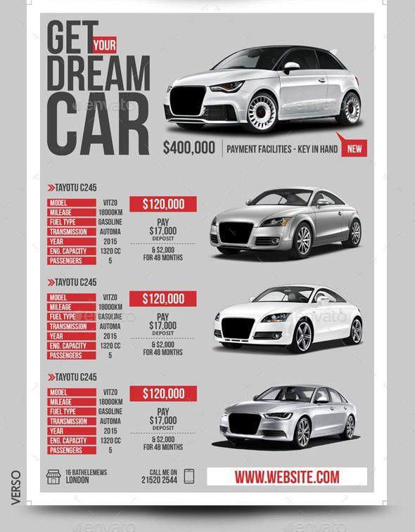 Car Dealer & Auto Services Business Flyer by BloganKids | GraphicRiver