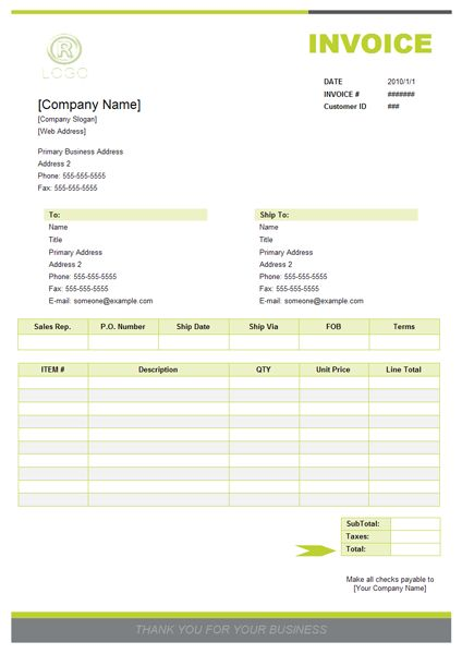 Invoice Software - Create Invoice rapidly with invoice examples ...