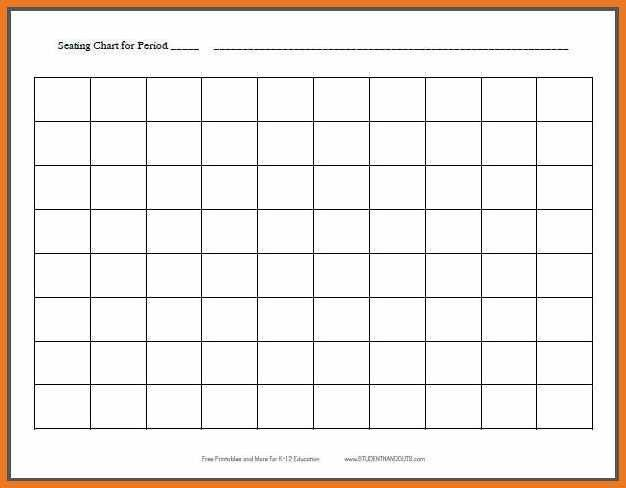 seating charts for classroom | art resume skills