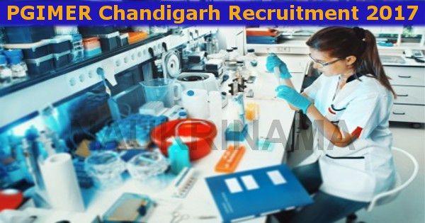 chandigarh laboratory technician jobs 2017