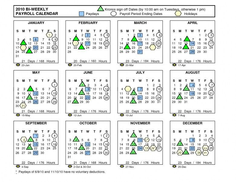 2016 Biweekly Payroll Calendar Template :-Free Calendar Template