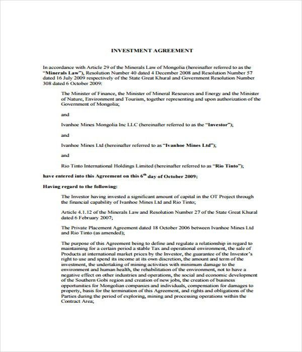 Agreement Templates - 31+ Free Word, PDF Documents Download