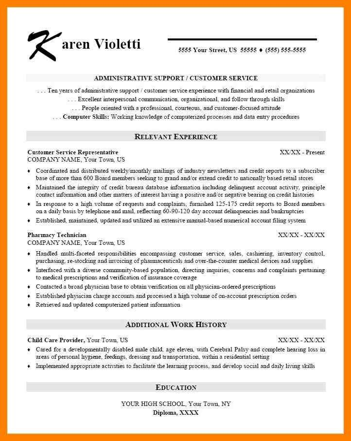 9+ skill based cv template | simple cv formate