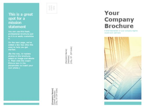 50 Free Attractive Tri fold Brochure Templates | Ginva