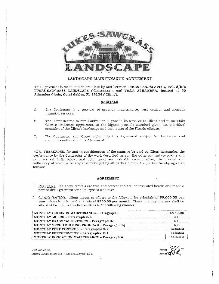 here is a view of the first page of ghgd landscape design proposal ...