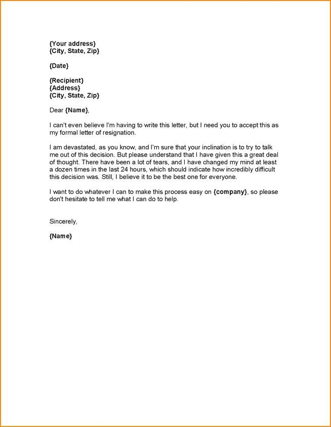7 Teacher Letter Of Resignation Academic Resume Template ...