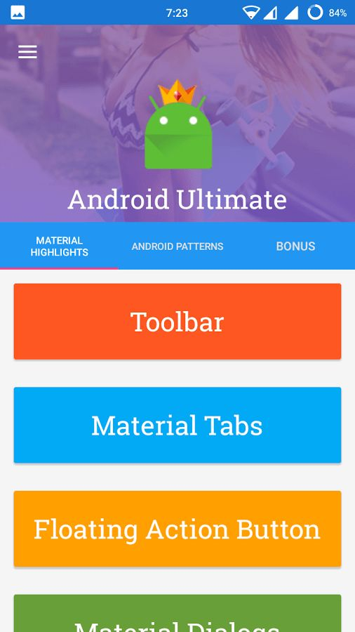 Ultimate Template for Android - Android Apps on Google Play