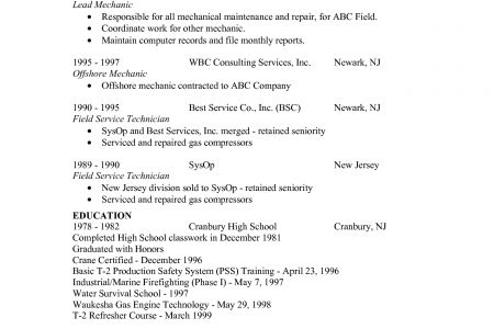 oilfield resume examples or on the image to view this example of - Oilfield Resume Examples 2