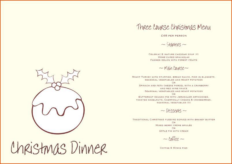 5+ free restaurant menu templates - bookletemplate.org