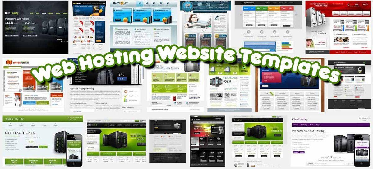52 Best Free & Premium Web Hosting Website Templates | SaveDelete