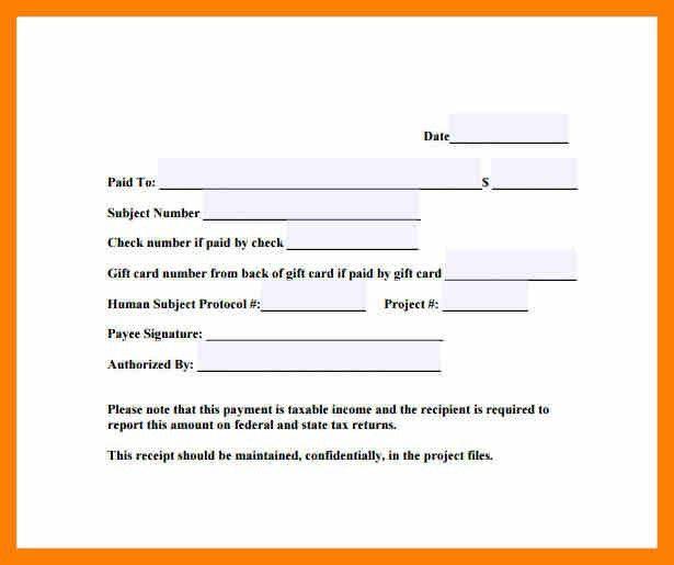 5+ receipt of payment template | attendance sheet