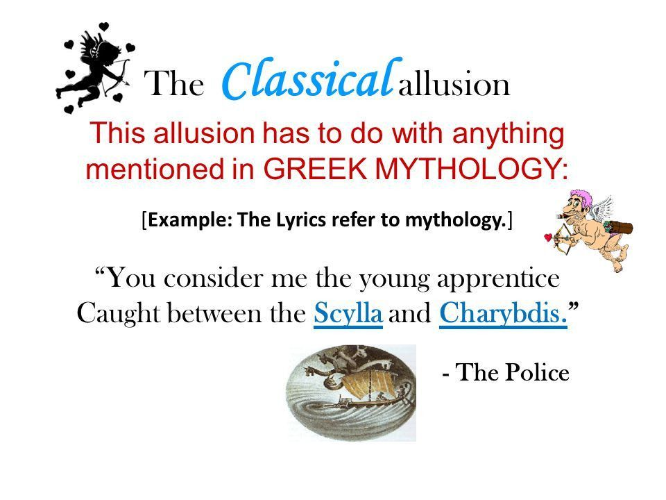 Allusions. - ppt download