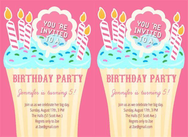 55+ Birthday Invitation Templates   Free & Premium Templates