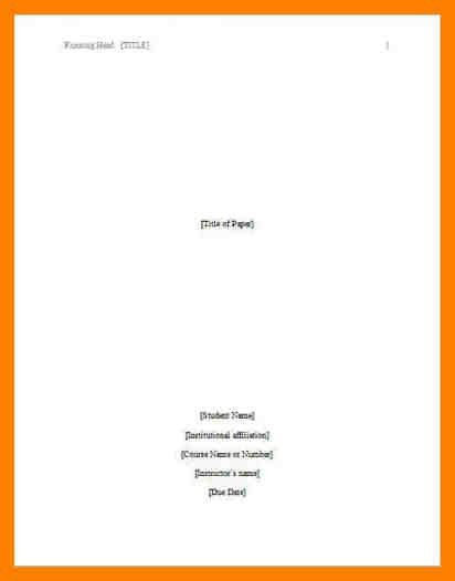8+ apa format title page example | accept rejection