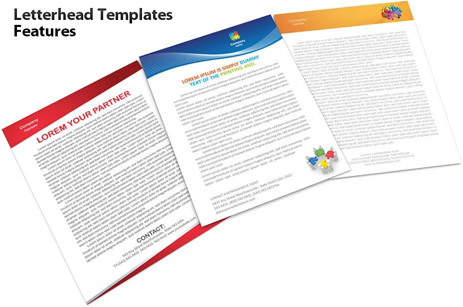 Letterhead Templates Features - SmileTemplates.com