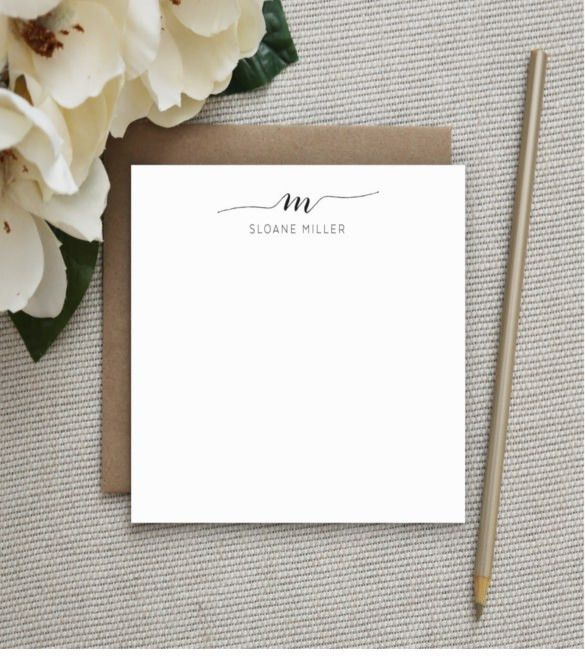 15+ Note Card Templates – Free Sample, Example, Format Download ...