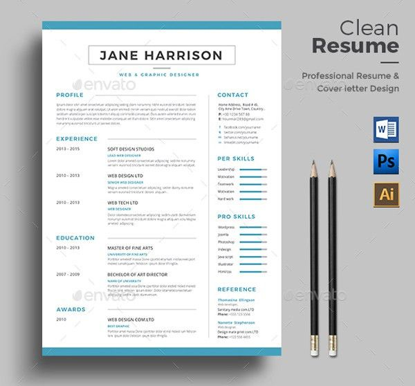 indesign resume template 20 beautiful free resume templates for