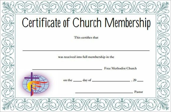 Sample Membership Certificate - 7+ Documents in PDF, PSD