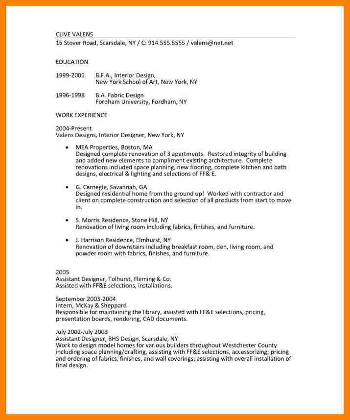 Modeling Resume Template. Model Resume Format Model Resume ...