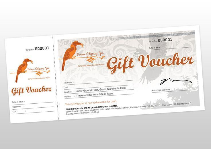 Gift Voucher Design | Design Ideas | Pinterest