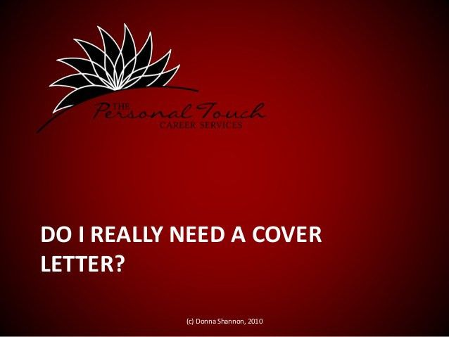 Creative cover letters