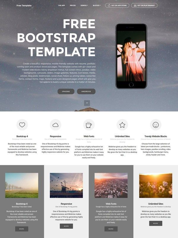 25 Responsive HTML5 Templates 2017
