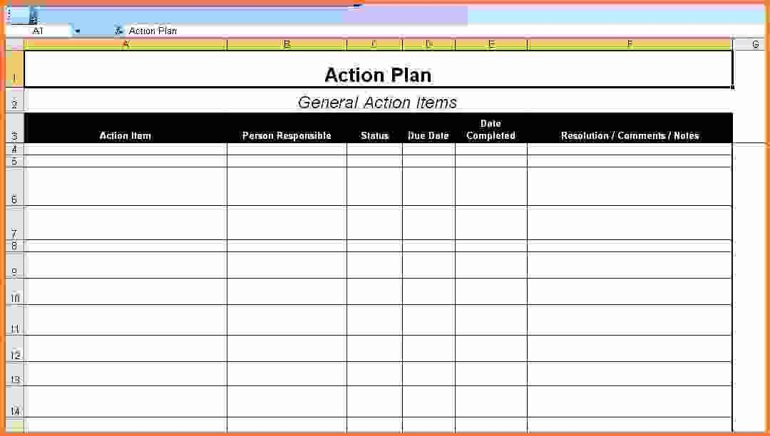 action plan template excel - Sales Report Template