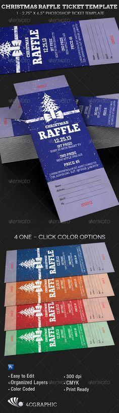Free printable raffle ticket templates | Templates | Pinterest ...