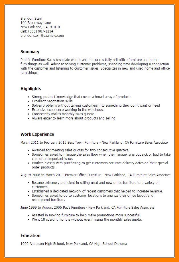 8+ resume for sales associate | authorize letter