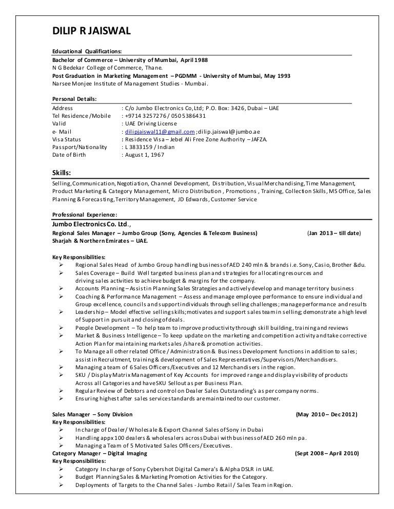 retail operations and sales manager resume. top 8 international ...