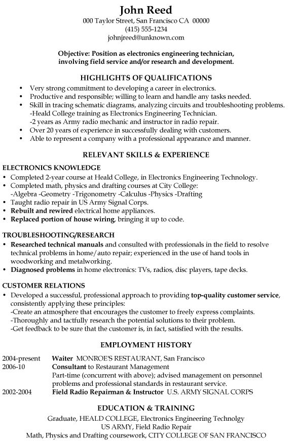 Electrical Engineer Resume Samples Visualcv Resume Samples ...