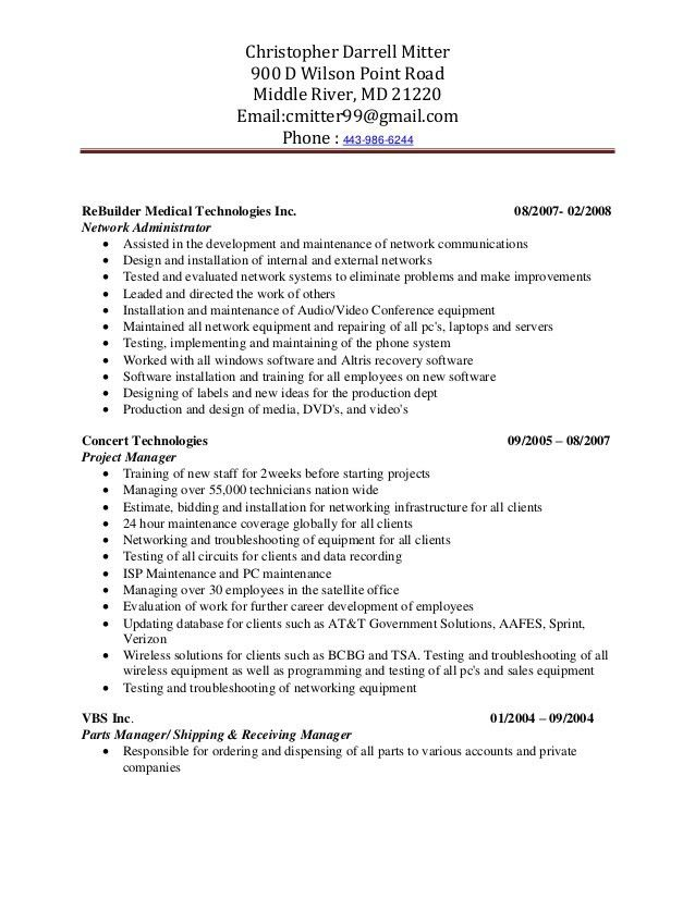 contract specialist resume professional government contract