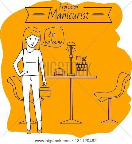 Manicurist Images, Illustrations, Vectors - Manicurist Stock ...