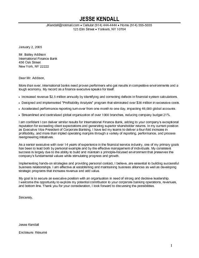 Pretty Cover Letter Investment Banking 14 Sample Letters - CV ...