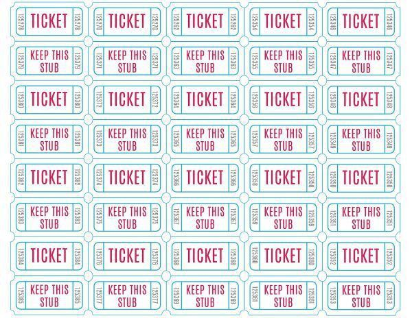 The 25+ best Printable raffle tickets ideas on Pinterest | Clothes ...